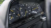 Mercedes-Benz 240 TD, Rundinstrumente