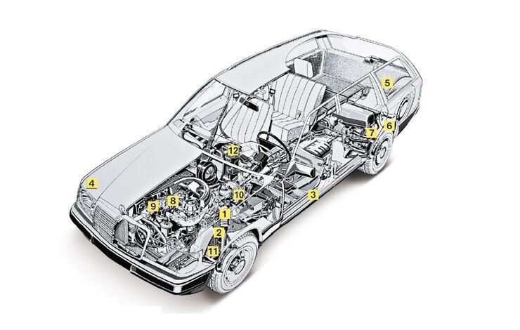 Mercedes-Benz 240 TD, YT0311, Igelbild