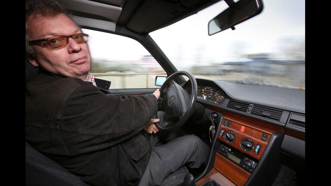 Mercedes-Benz 250 D, Cockpit, Alf Cremers