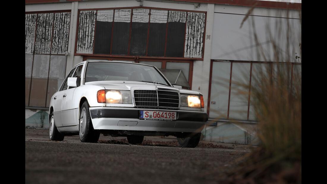 Mercedes-Benz 250 D, Frontansicht