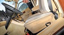 Mercedes-Benz 280 SE, Cockpit, Sitz