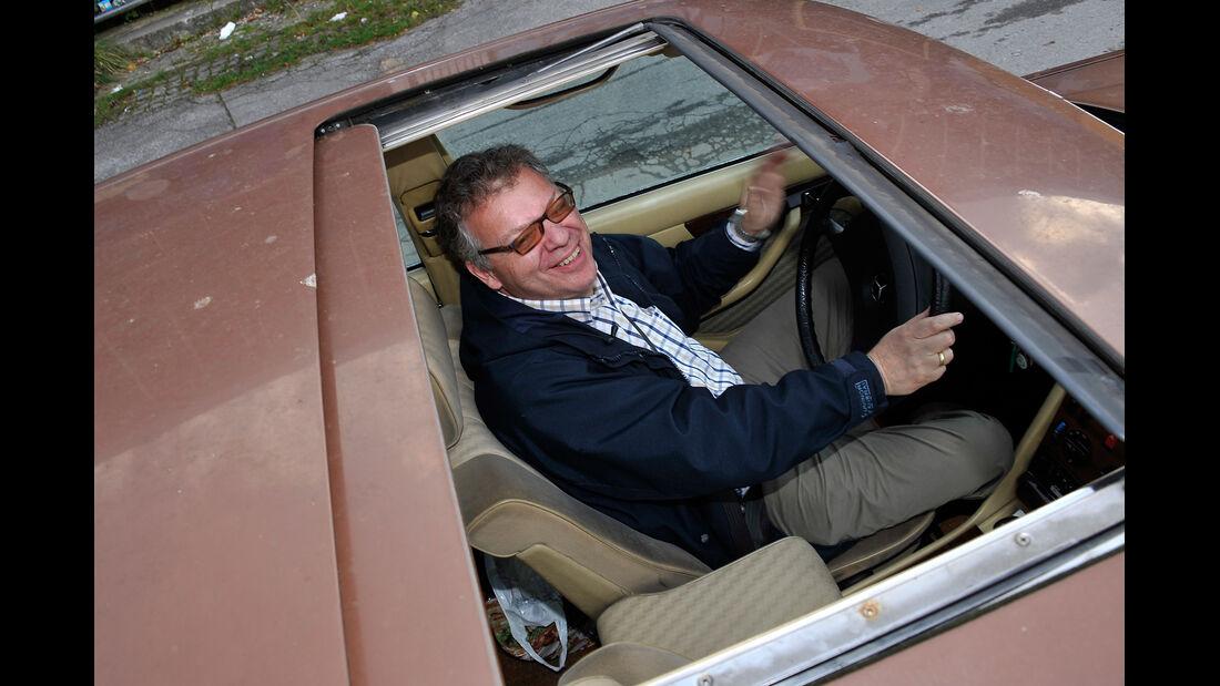 Mercedes-Benz 280 SE, Dachfenster, Schiebedach