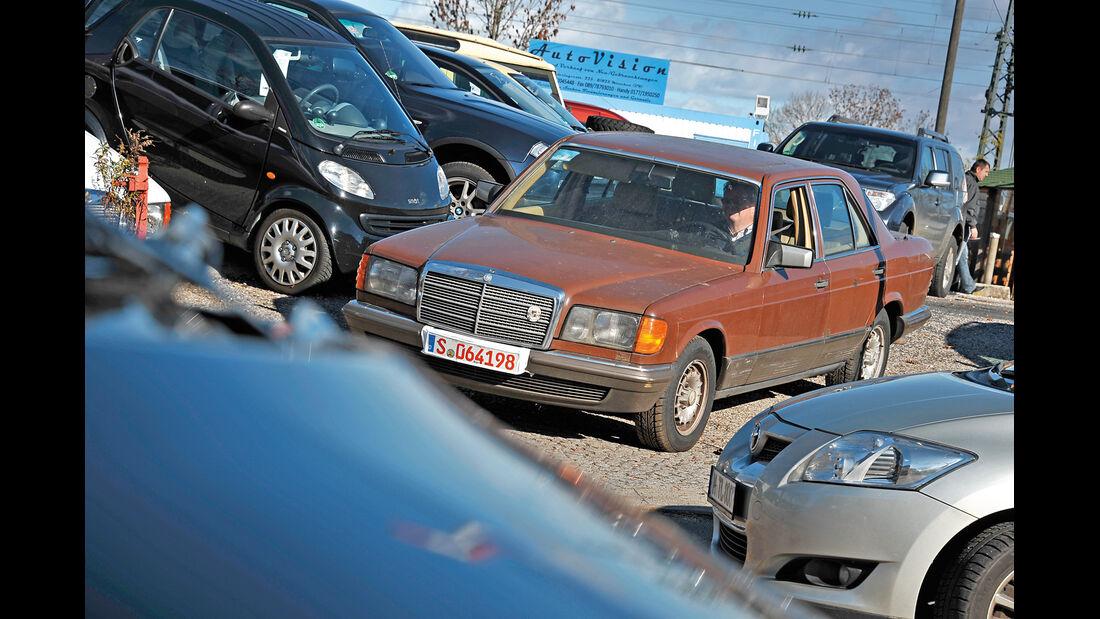 Mercedes-Benz 280 SE, Frontansicht