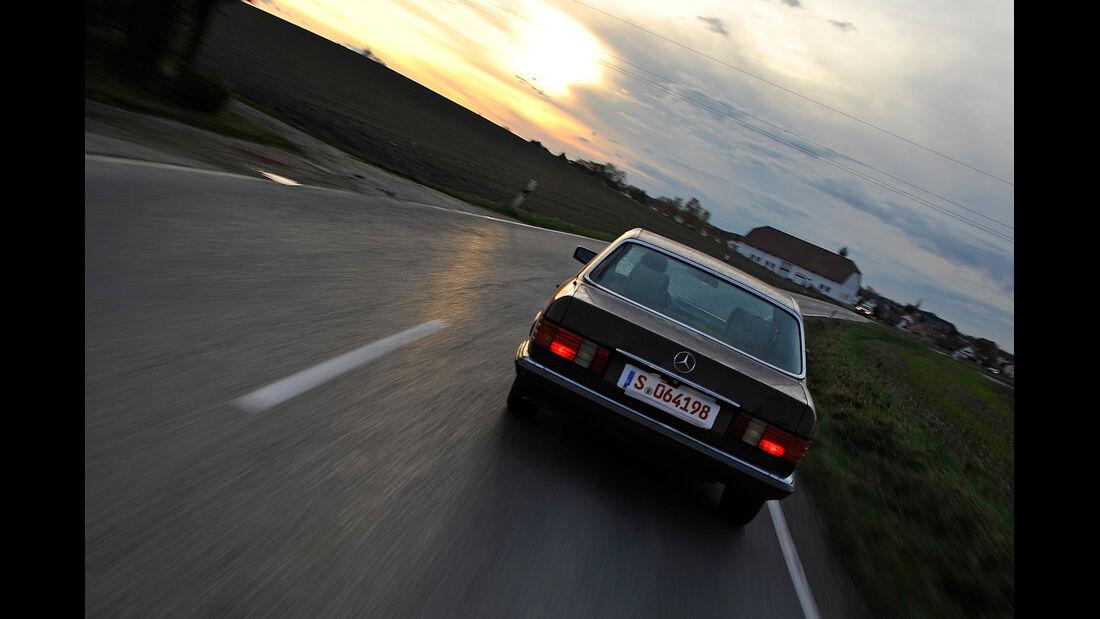 Mercedes-Benz 280 SE, Heckansicht