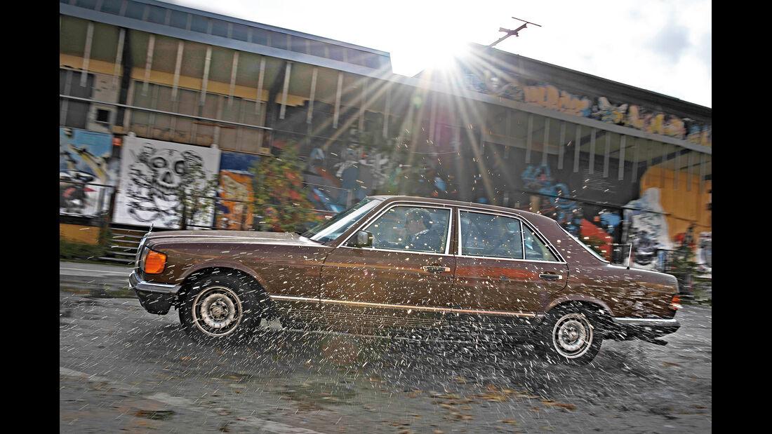Mercedes-Benz 280 SE, Seitenansicht