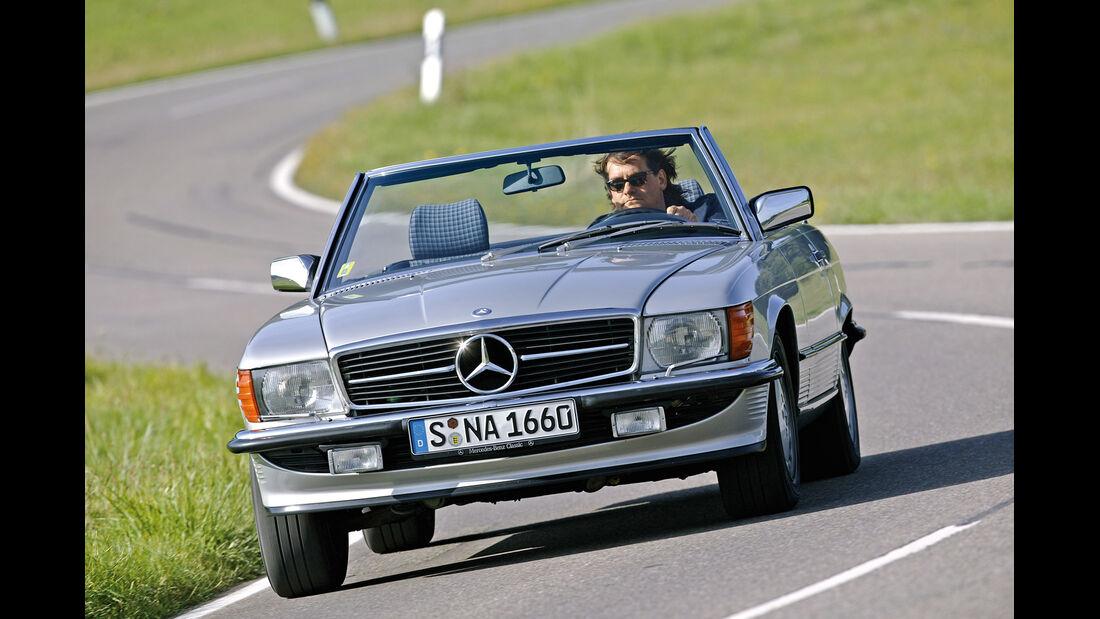 Mercedes-Benz 280 SL - 500 SL, Frontansicht