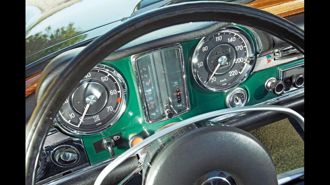 Mercedes-Benz 280 SL, Cockpit, Rundinstrumente