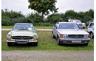 Mercedes-Benz 280 SL Pagode und W126 Coupé