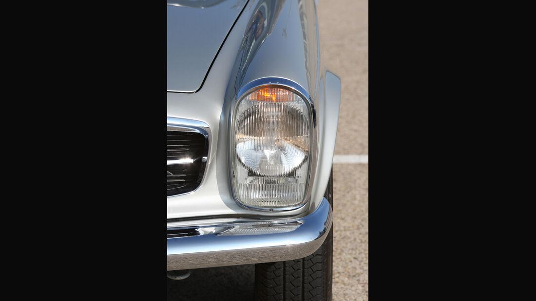 Mercedes-Benz 280 SL (W113), Scheinwerfer