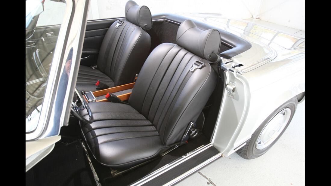 Mercedes-Benz 280 SL (W113), Sitze