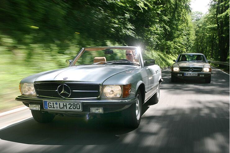 Mercedes-Benz 280 SL und 350 SL