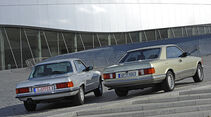 Mercedes-Benz 280 SLC, Mercedes-Benz 500 SEC