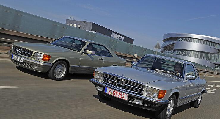 Mercedes-Benz 280 SLC, Mercedes-Benz 500 SEC