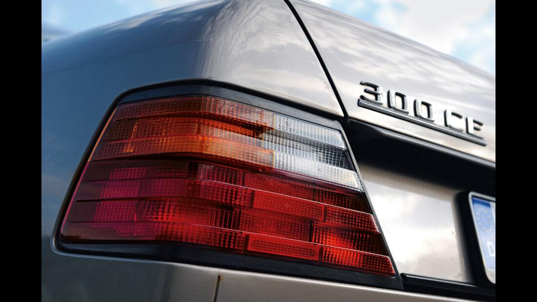 Mercedes-Benz 300 CE, C 124, Baujahr 1988, Rücklicht
