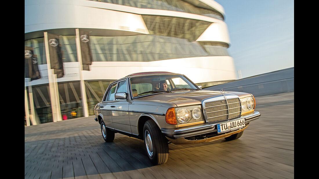 Mercedes-Benz 300 D, Frontansicht