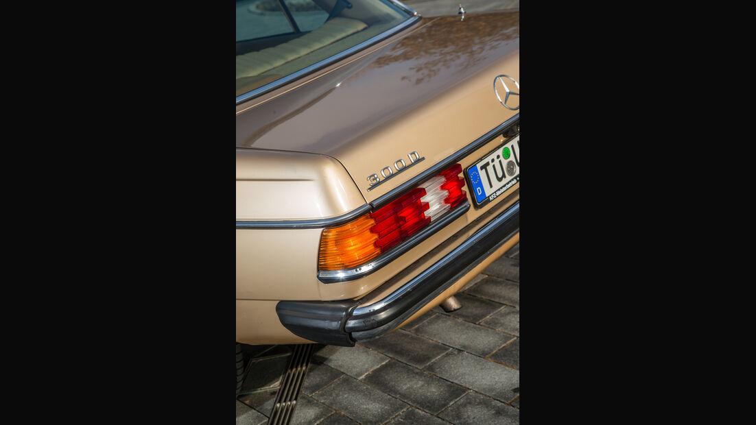 Mercedes-Benz 300 D, Heckleuchte