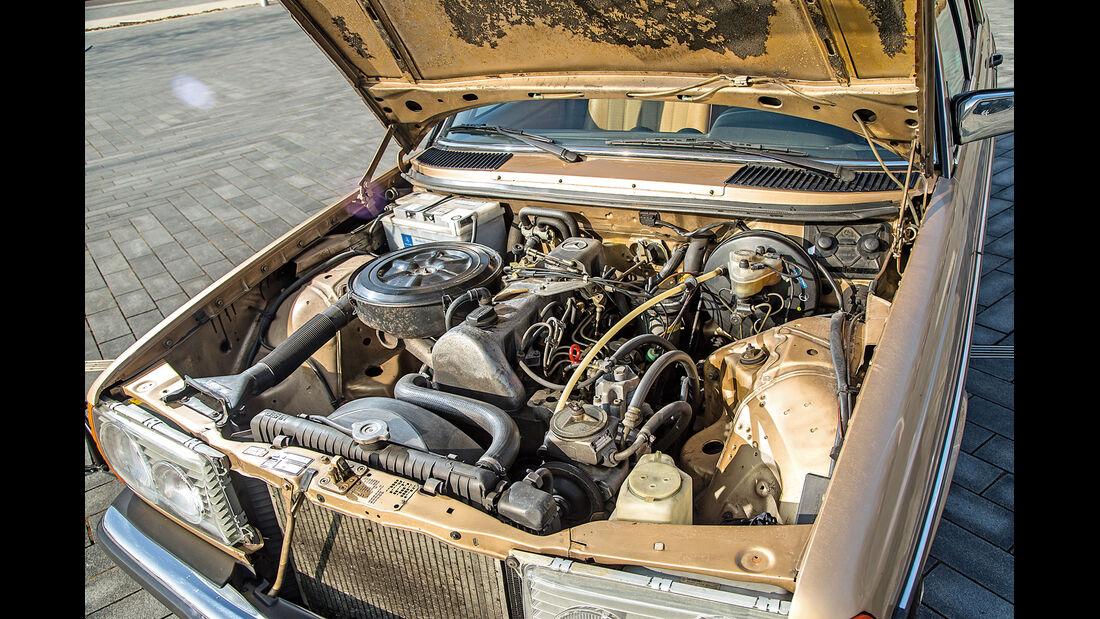 Mercedes-Benz 300 D, Motor