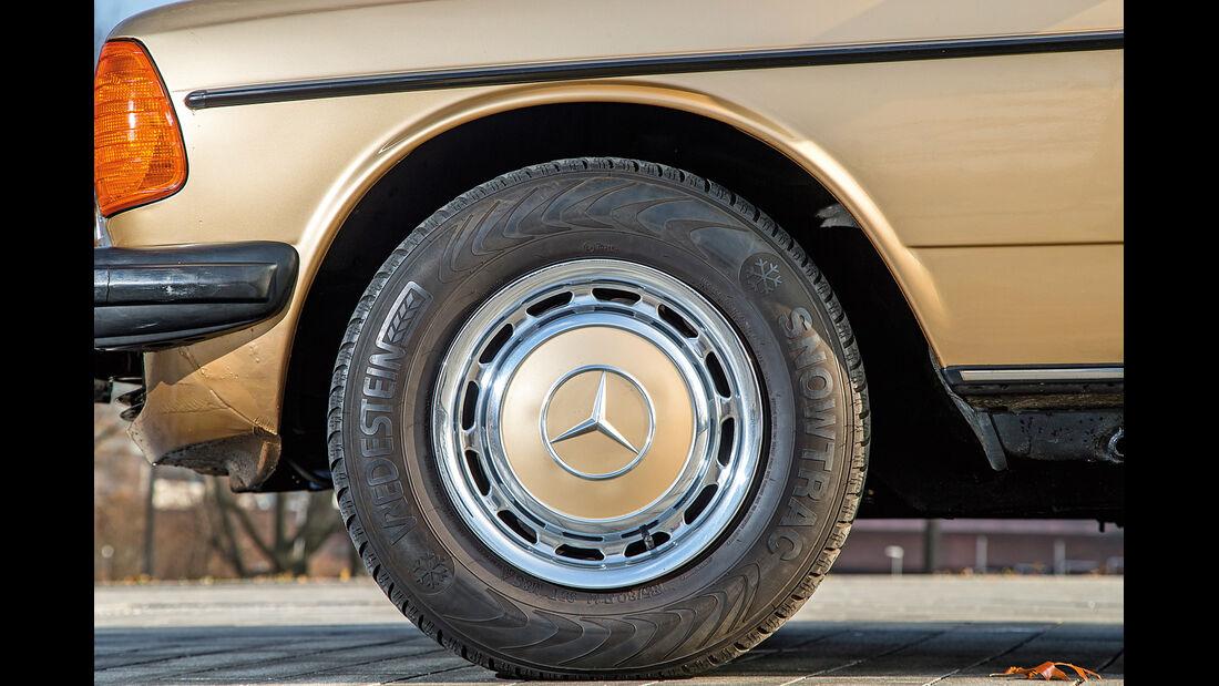 Mercedes-Benz 300 D, Rad, Felge