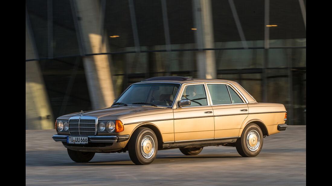 Mercedes-Benz 300 D, Seitenansicht