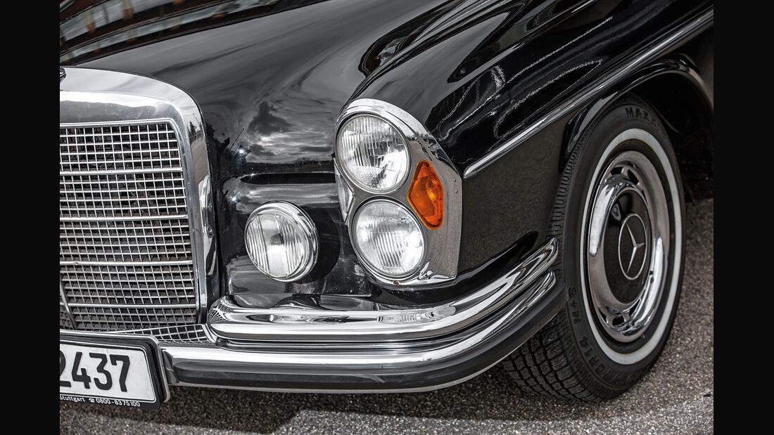 Mercedes-Benz 300 SEL 3.5, Frontscheinwerfer