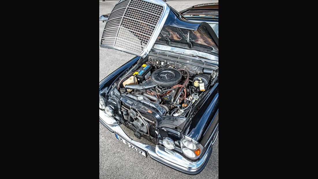 Mercedes-Benz 300 SEL 3.5, Motor