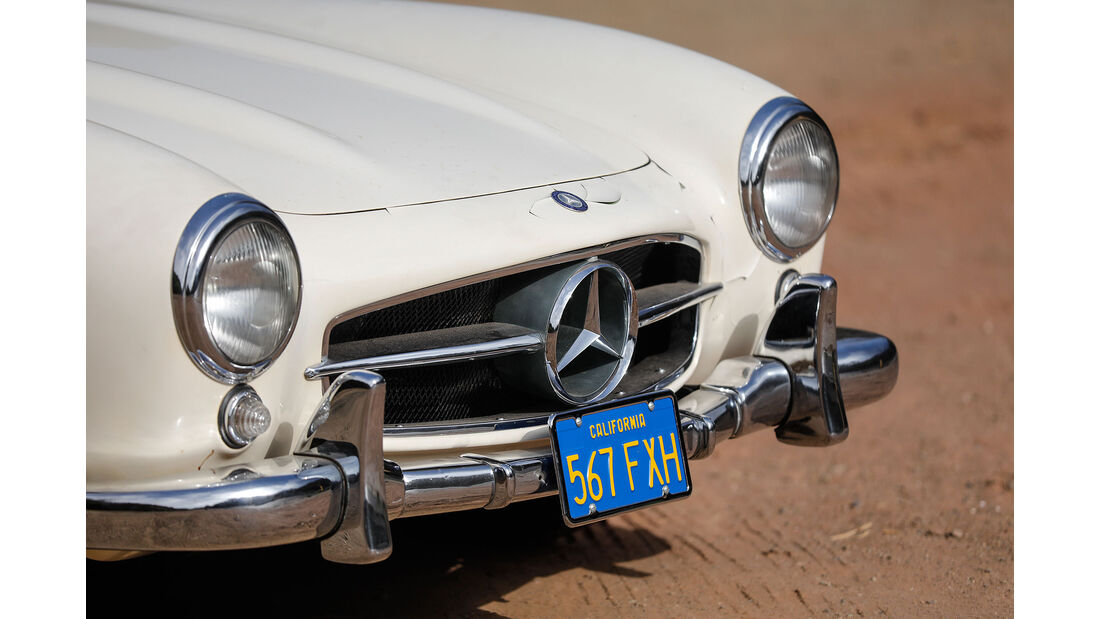 Mercedes-Benz 300 SL (1955) Herbert von Karajan