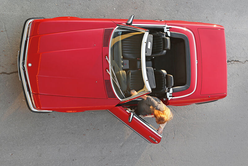Mercedes-Benz 300 SL, Draufsicht