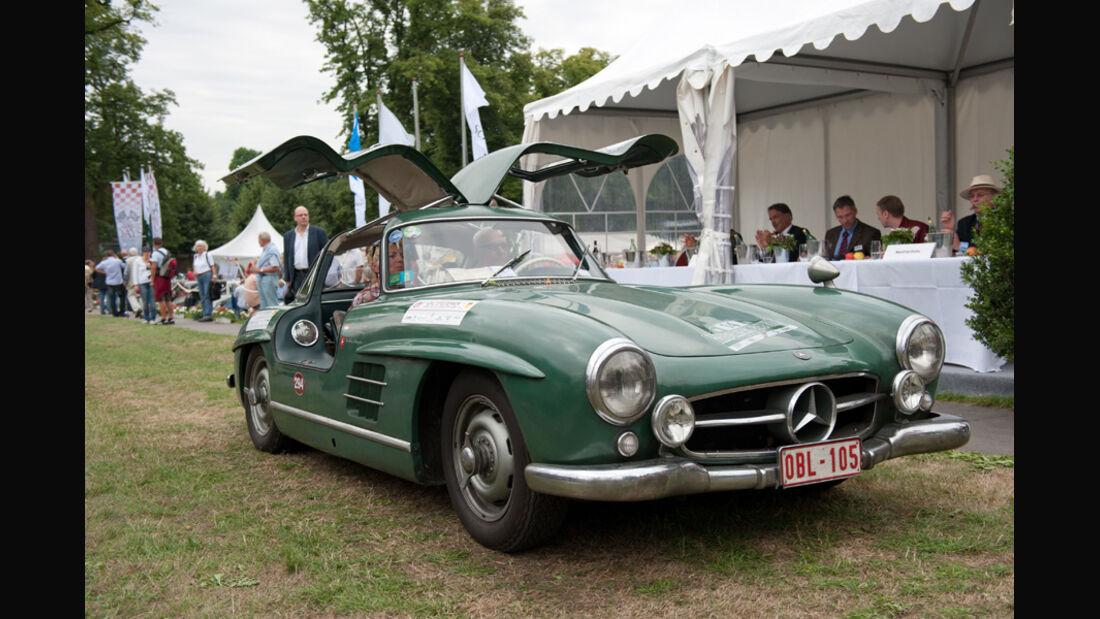 Mercedes-Benz 300 SL, Flügeltüren