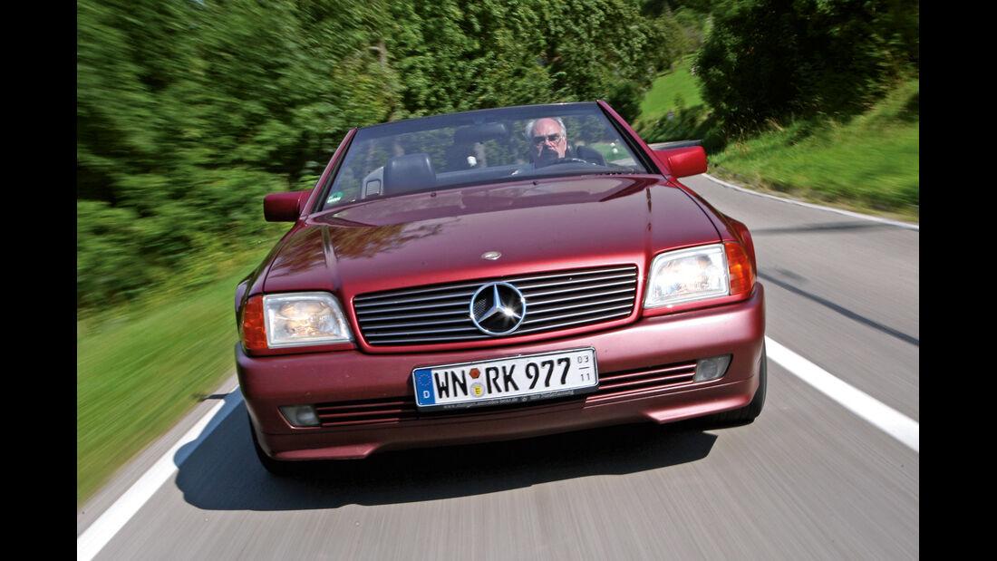 Mercedes-Benz 300 SL, Frontansicht