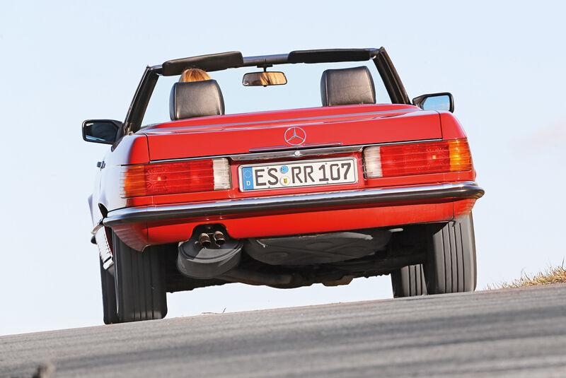 Mercedes-Benz 300 SL, Heckansicht