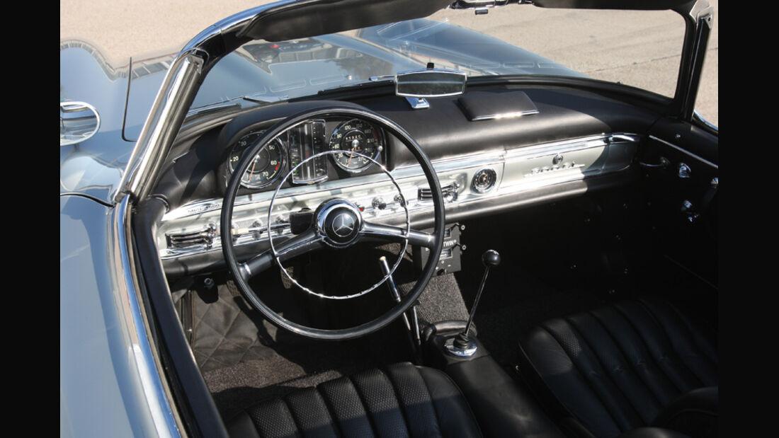 Mercedes-Benz 300 SL Roadster, Cockpit