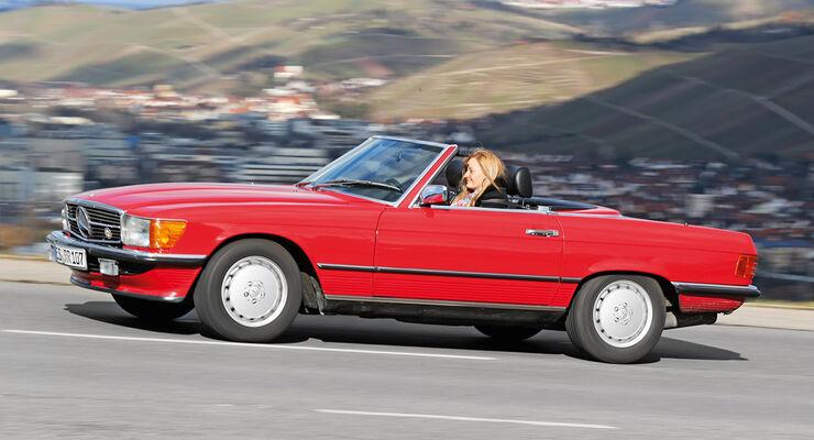 Mercedes-Benz 300 SL, Seitenansicht