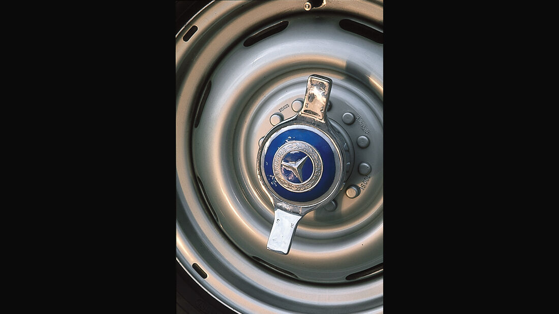 Mercedes-Benz 300 SL (W 194), Felge