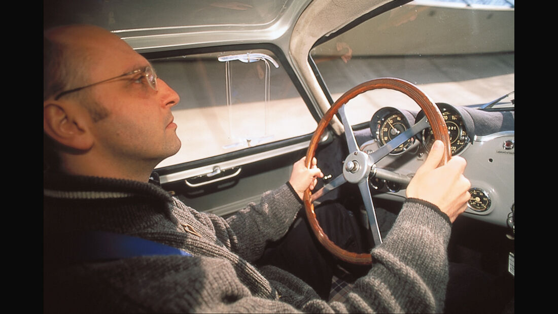 Mercedes-Benz 300 SL (W 194), Innenraum, Götzl