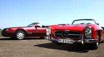 Mercedes-Benz 300 SL (W198 II), Mercedes-Benz 300 SL (R129)