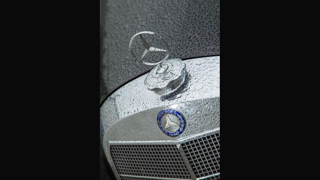 Mercedes-Benz 300, W186/II, Stern, Kühlergrill