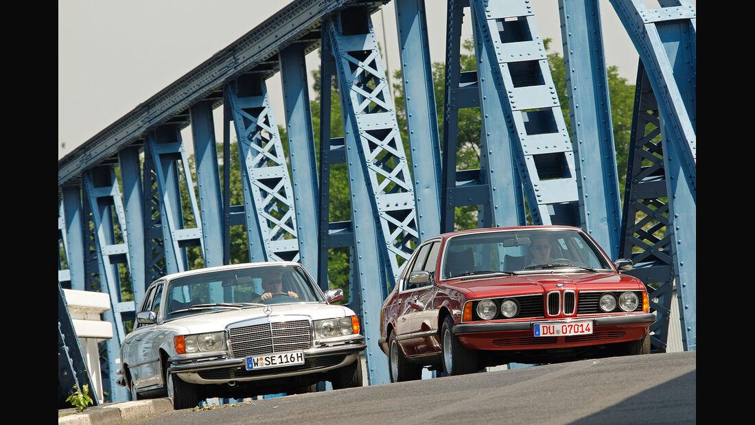 Mercedes-Benz 350 SE, BMW 730