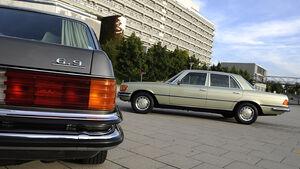Mercedes-Benz 350 SE, Mercedes-Benz 450 SEL 6.9