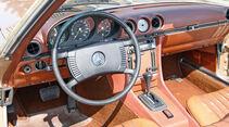 Mercedes-Benz 350 SL, Cockpit