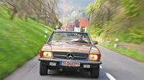 Mercedes-Benz 350 SL, Frontansicht