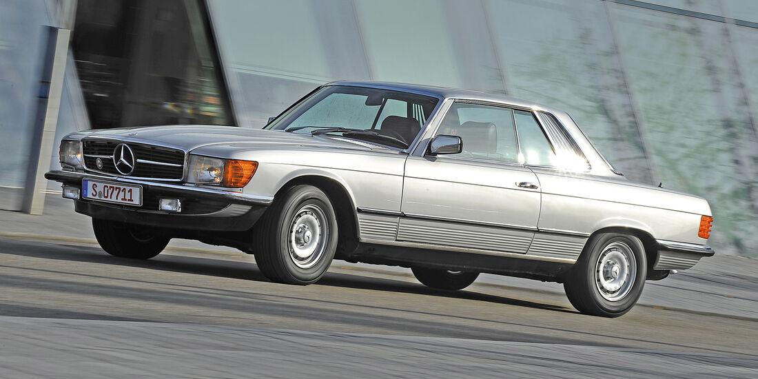 Mercedes-Benz 350 SLC , Seitenansicht