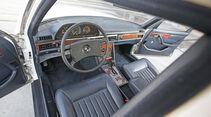 Mercedes-Benz 380 SE, Cockpit