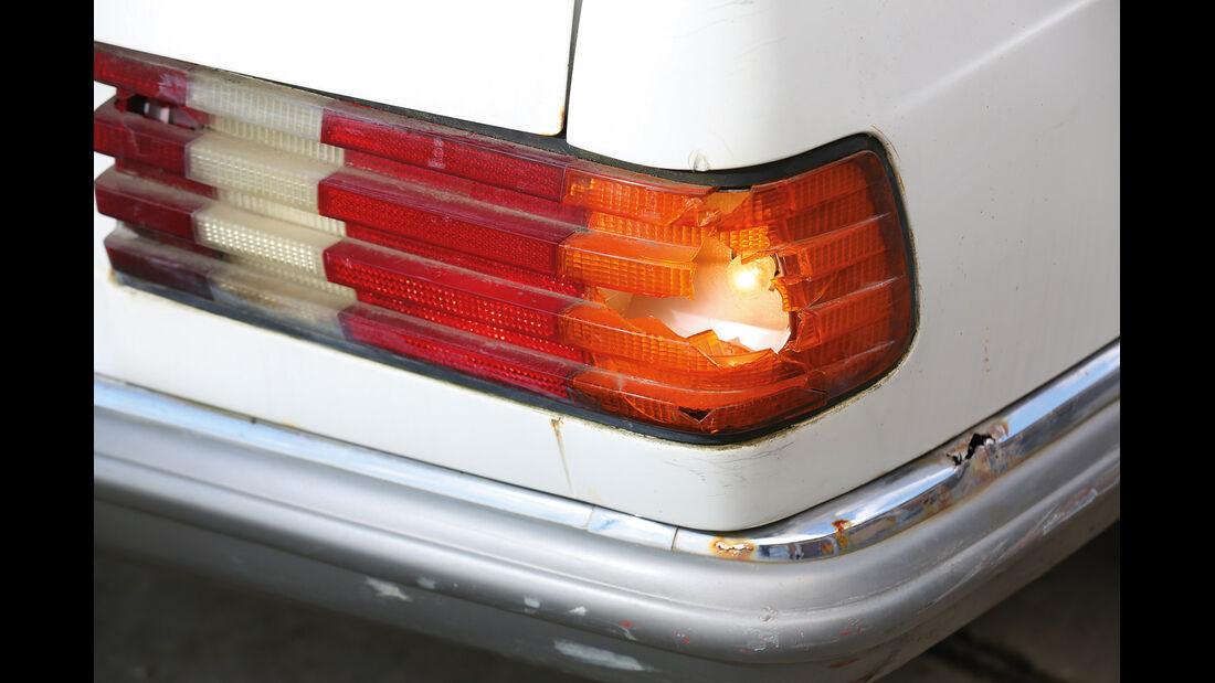 Mercedes-Benz 380 SE, Heckleuchte
