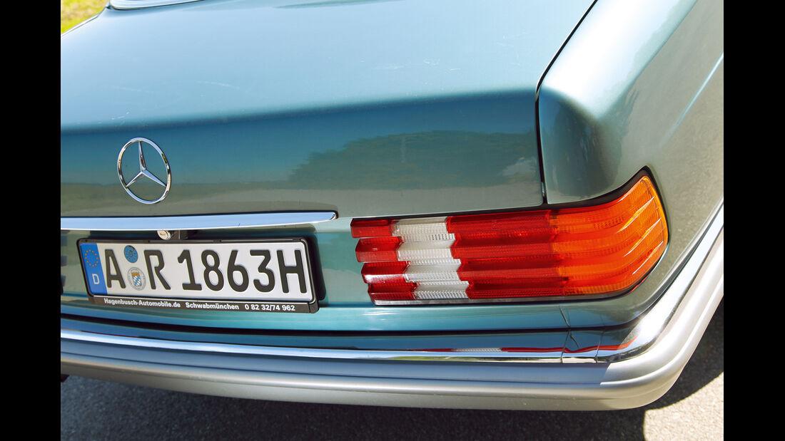 Mercedes-Benz 380 SEL, Heck