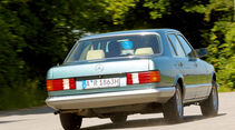 Mercedes-Benz 380 SEL, Heckansicht