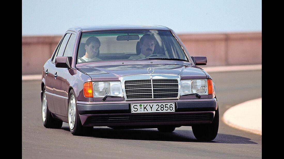 Mercedes-Benz 400 E, Frontansicht