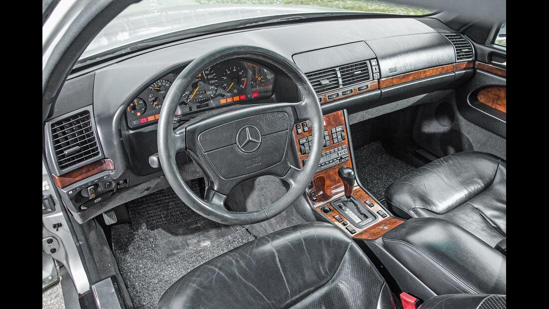 Mercedes-Benz 400 SEL, Cockpit