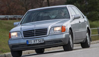 Mercedes-Benz 400 SEL, Frontansicht