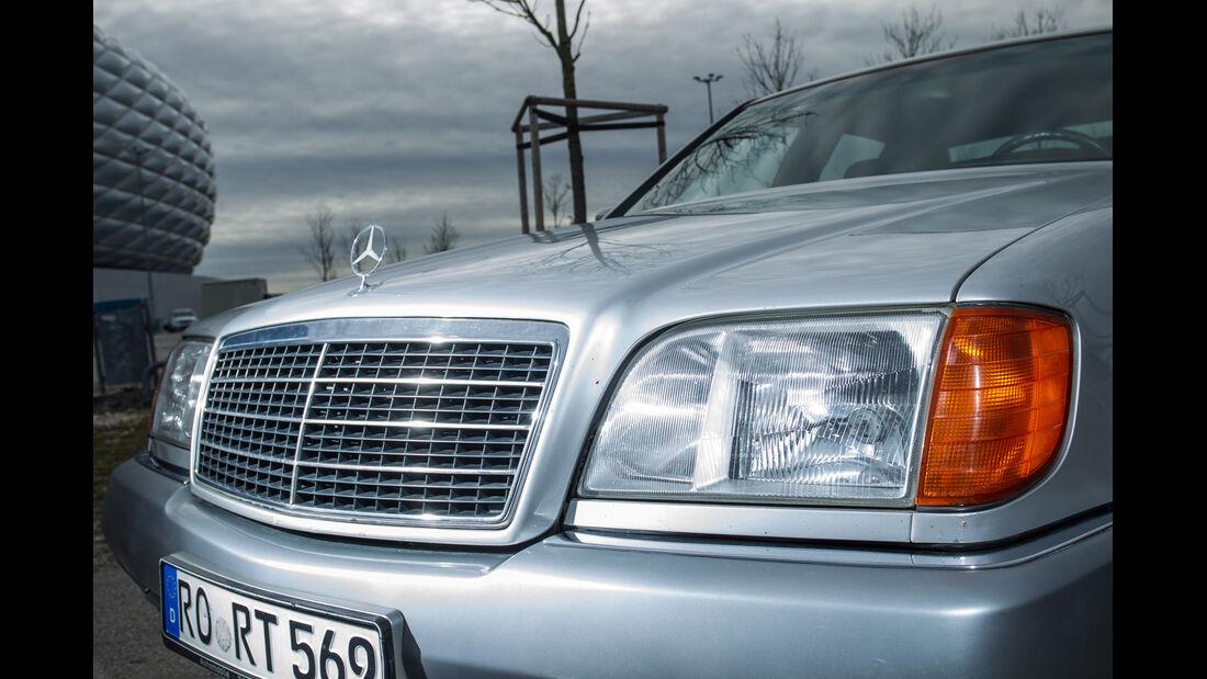 Mercedes-Benz 400 SEL, Kühlergrill