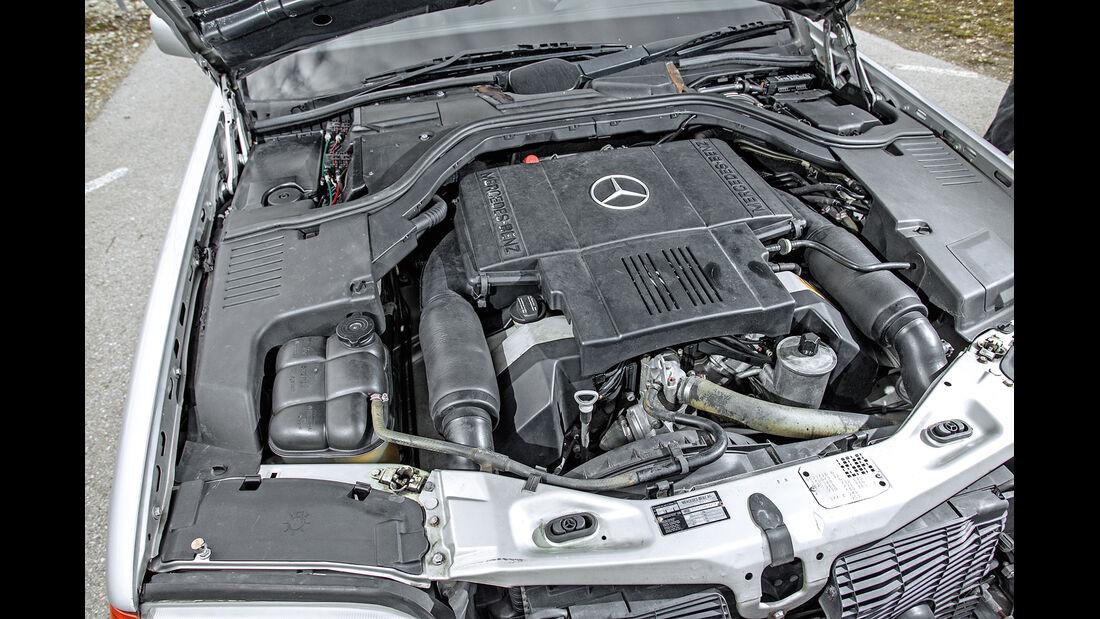 Mercedes-Benz 400 SEL, Motor